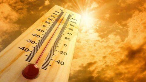 3 bölgede sıcaklık mevsim normalinin 8 derece kadar üstüne çıktı