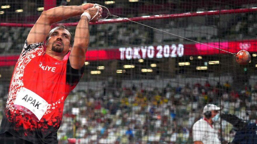 Eşref Apak Olimpiyat Oyunları'na kıl payı veda etti   Tokyo 2020