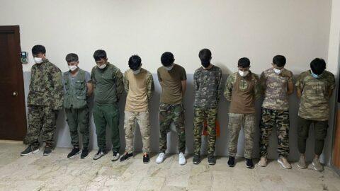 Askeri kamuflajlı Afganlar için karar verildi