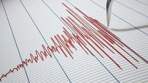 Datça açıklarında 4.0'lık deprem