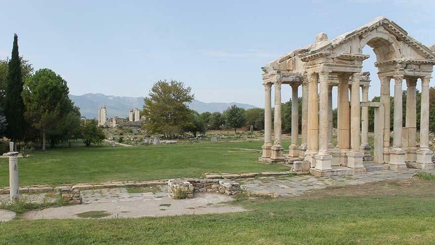 UNESCO listesindeki Afrodisias Antik Kenti'nde yangın önlemi