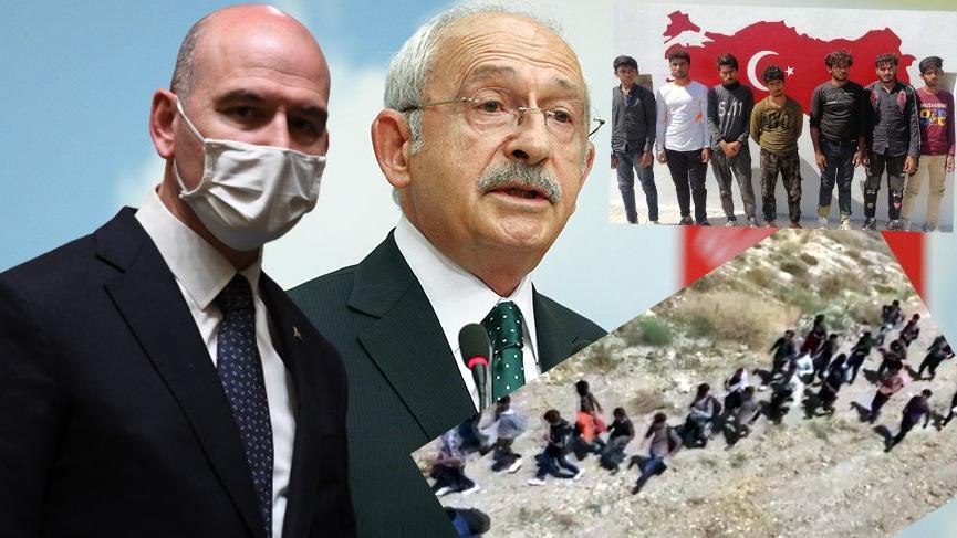 Soylu'dan Kılıçdaroğlu'na 'Afgan göçmen' yanıtı