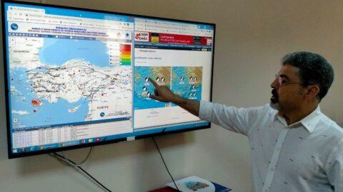 Datça'da deprem fırtınası