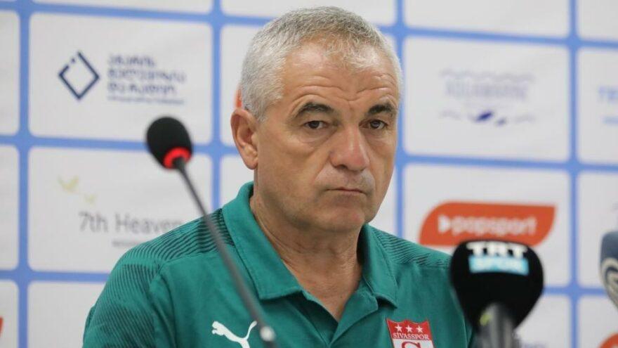 Rıza Çalımbay: Batumi maçında eksiklerimiz olacak