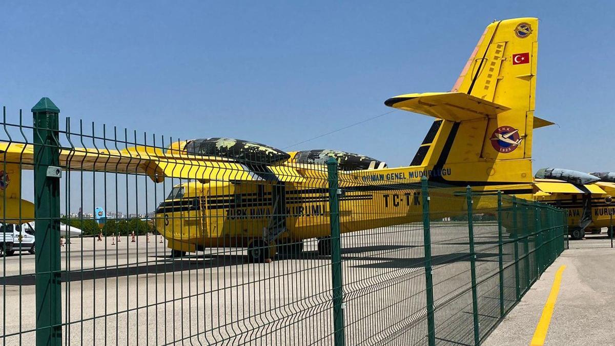 THK'ye yangın uçakları için resmen başvuru yapıldı