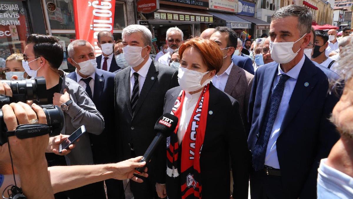 Akşener: Avrupa'nın dediğini yapıp Türkiye'yi hendek etmek hainliktir