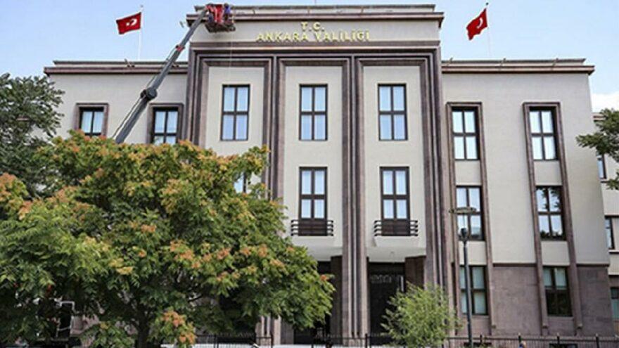 Ankara Valiliği duyurdu! Girişler 15 Eylül'e kadar yasaklandı