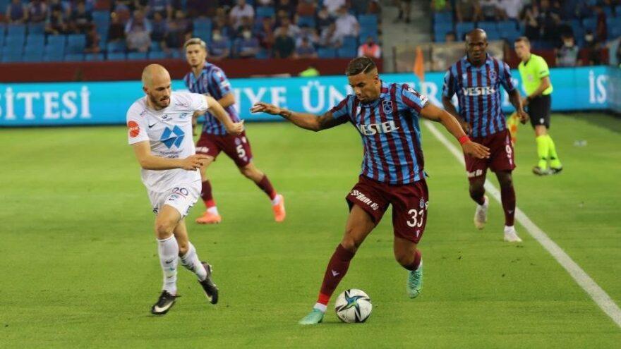 MAÇ SONUCU | Trabzonspor 3-3 Molde | UEFA Avrupa Konferans Ligi