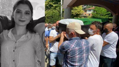 Cinayete kurban giden üniversiteli Elif son yolculuğuna uğurlandı