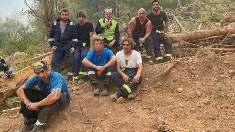 Orman yangınıyla mücadele eden İbrahim Çelikkol'dan mesaj var
