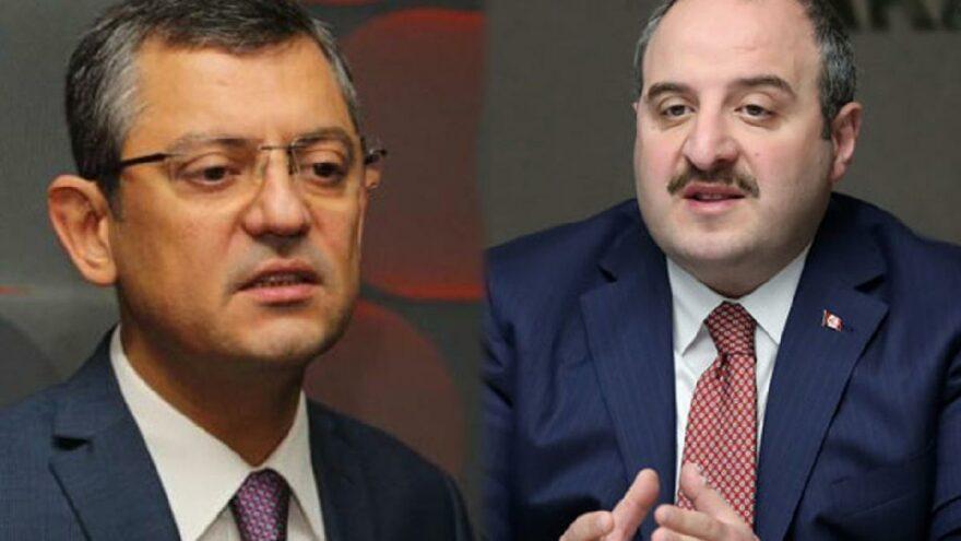 Özgür Özel ile Bakan Varank arasında 'uçak' tartışması