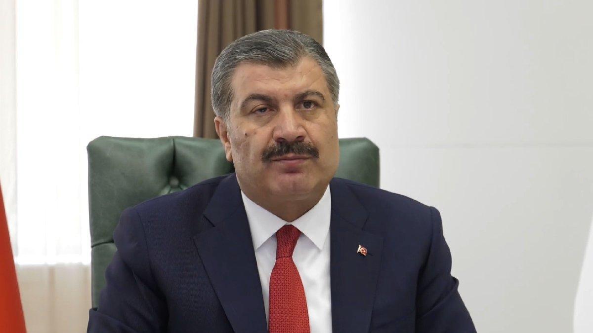 Sağlık Bakanı Koca'dan corona aşısı açıklaması