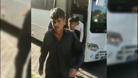 Güngören'de 364 kaçak göçmen yakalandı