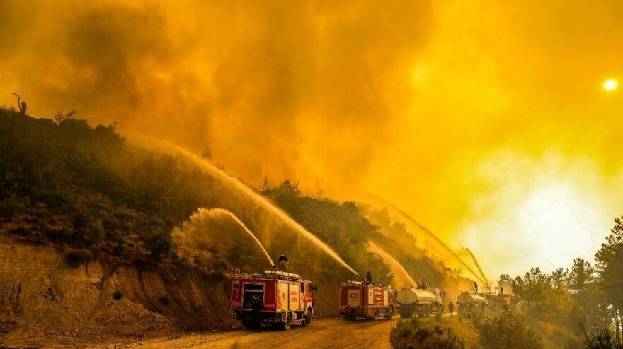 Başsavcılıktan 'yangın paylaşımları' soruşturması