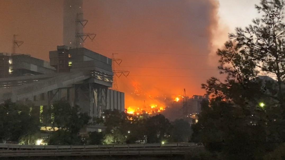Milas yangını sürüyor! Termik santralde patlamalar yaşandı