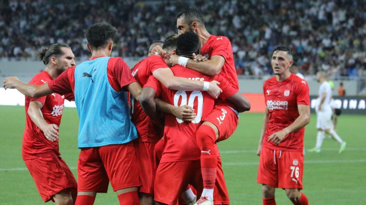 MAÇ SONUCU   Dinamo Batumi 1-2 Sivasspor   UEFA Avrupa Konferans Ligi