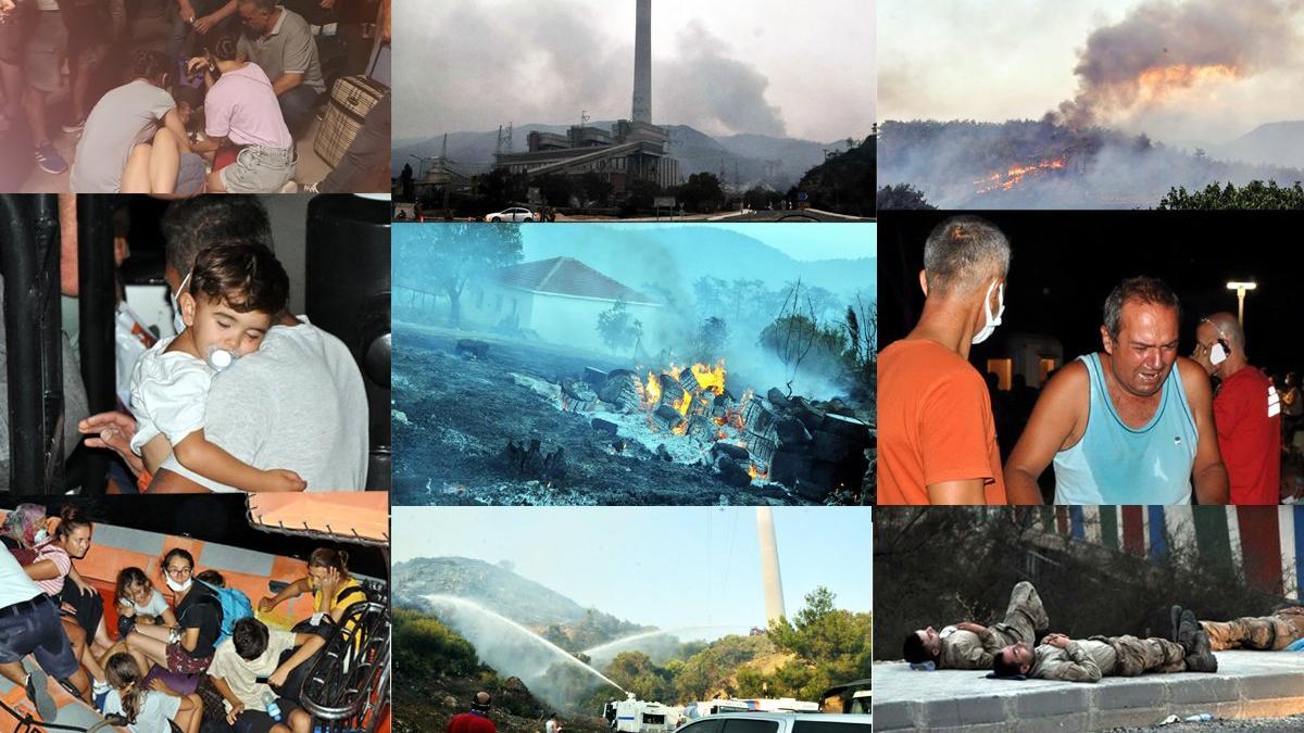 Gökova'da termik santral ve yangın kâbusu...