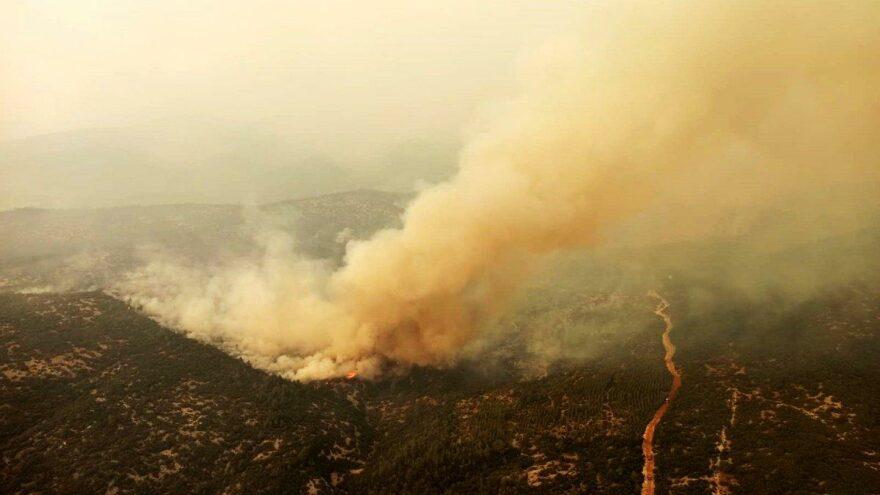 Muğla'da son durum… Üç yerde yangınlar sürüyor…