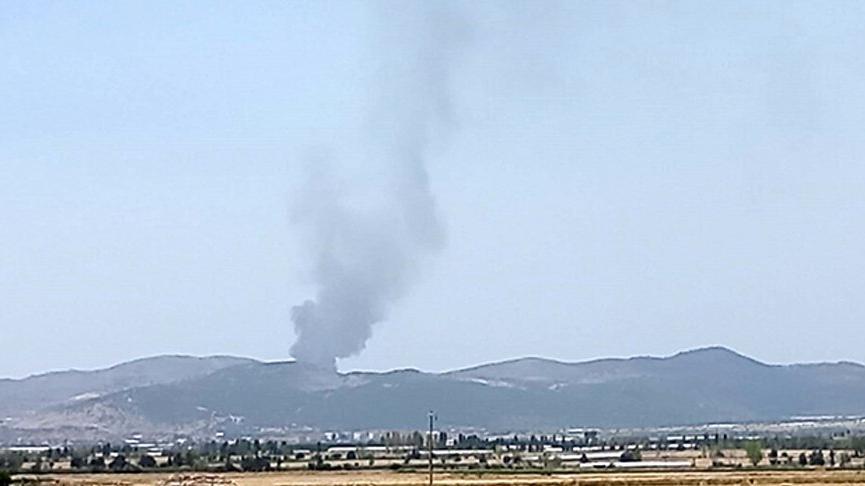 Burdur'daki orman yangını kontrol altına alındı