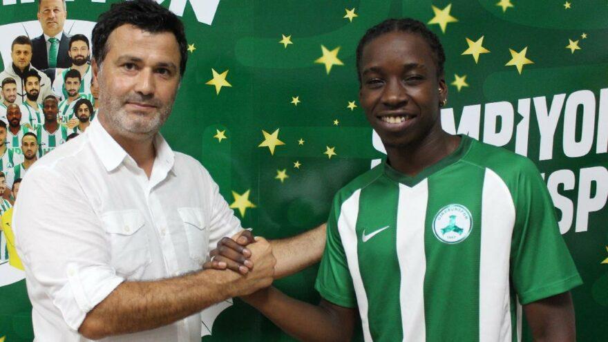 Giresunspor, Trabzonspor'dan Fousseni Diabate'yi transfer etti