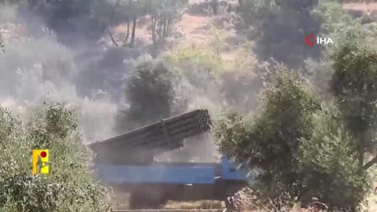 İsrail'e düzenlenen füze saldırısının görüntüleri ortaya çıktı