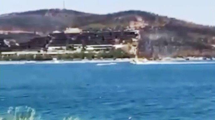 Yangın söndürme uçağını engelleyen jetski hakkında soruşturma başlatıldı