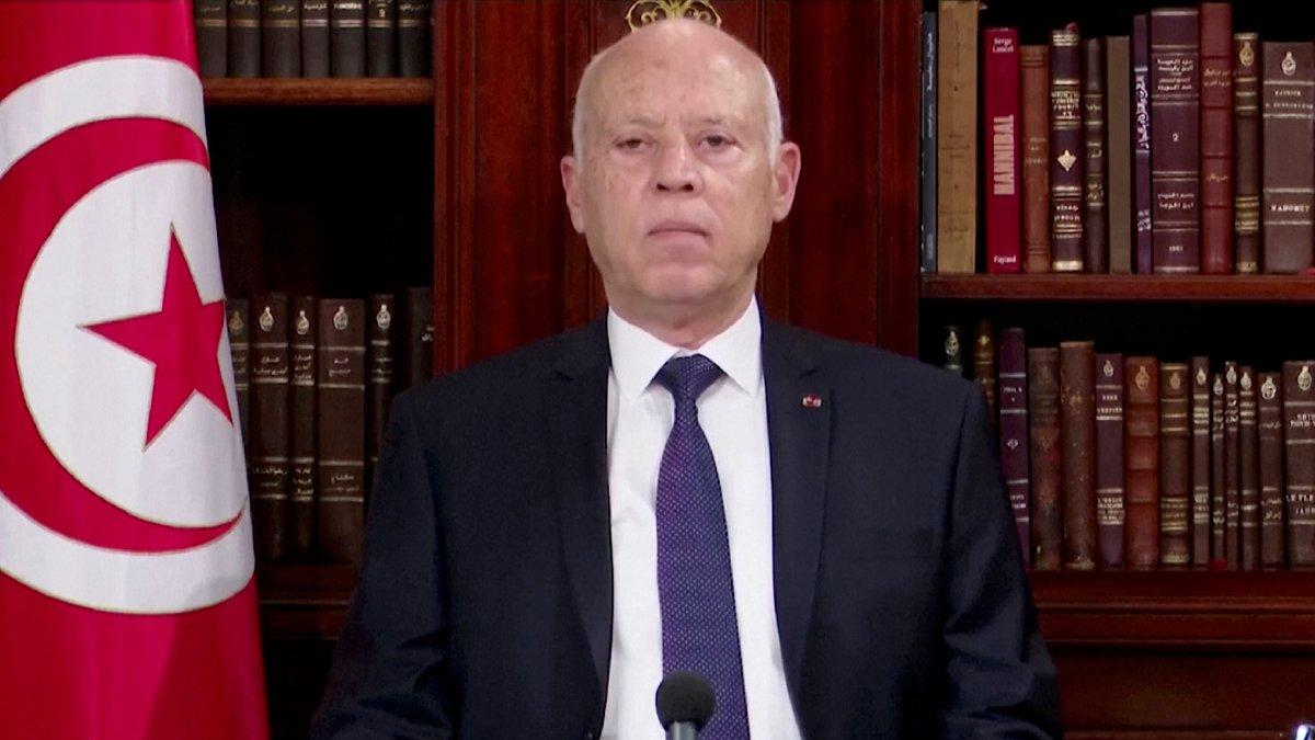 Tunus Cumhurbaşkanı Said geri adım atmıyor: Dürüst olanlar dışında diyalog yok