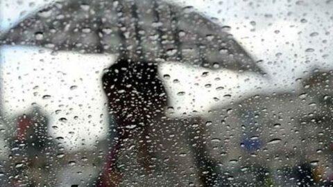 Meteoroloji'den birçok il için art arda gök gürültülü sağanak yağış uyarısı
