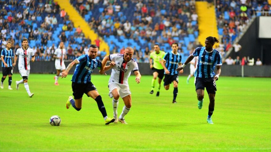 Adana Demirspor ve Beşiktaş yenişemedi: 1-1