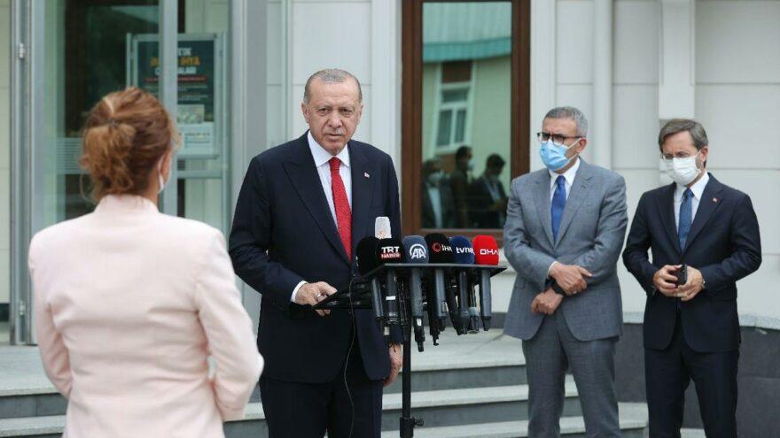 Erdoğan: 5 milyar 400 milyon yetişmiş ağaç diktik