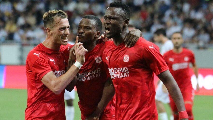Sivasspor, Avrupa'da doludizgin