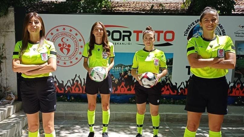 TSYD Ankara Kupası'nda kadın hakemler düdük çalacak