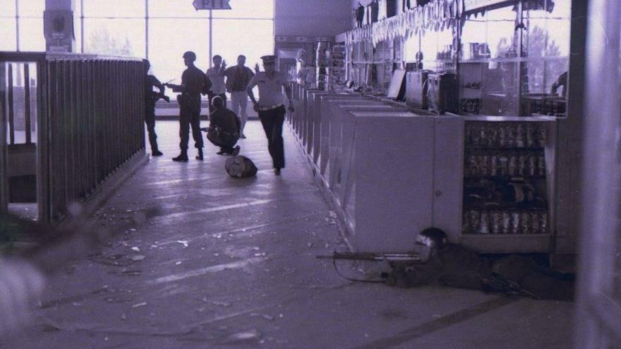 Türkiye'yi sarsan kanlı baskın Esenboğa'da Asala eylemi 9 ölü 73 yaralı