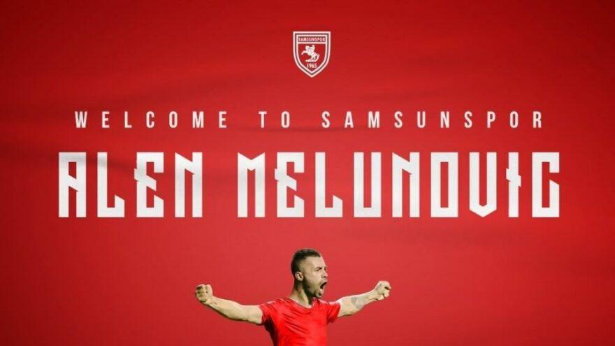 Samsunspor, Alen Melunovic'e imza attırdı
