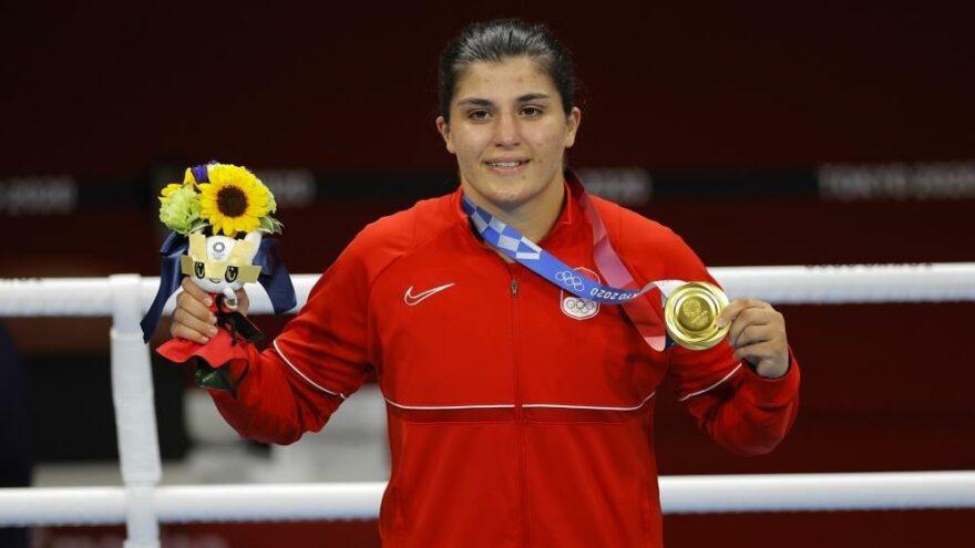 Busenaz Sürmeneli: 'Altın madalya geldi ama yetinmeyeceğiz'   2020 Tokyo Olimpiyatları