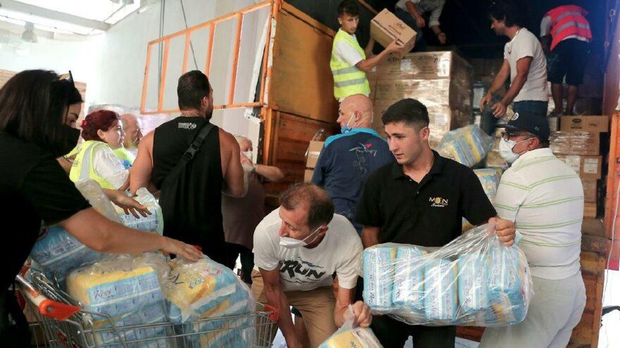 İstanbul Vakfı'nın yardım TIR'ı afet bölgesine ulaştı