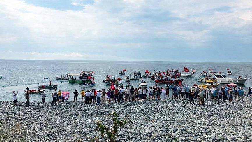 Karadeniz'de kafes balıkçılığına tepki