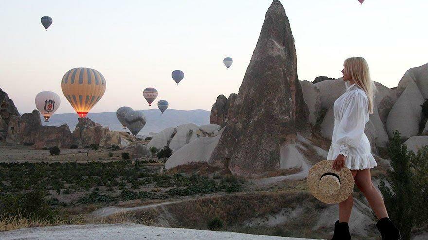 Kapadokya bölgesine 370 bin ziyaretçi
