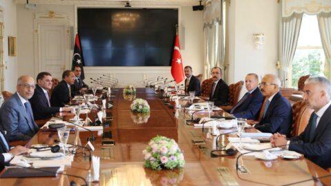 Türkiye ve Libya heyetleri arasında görüşme