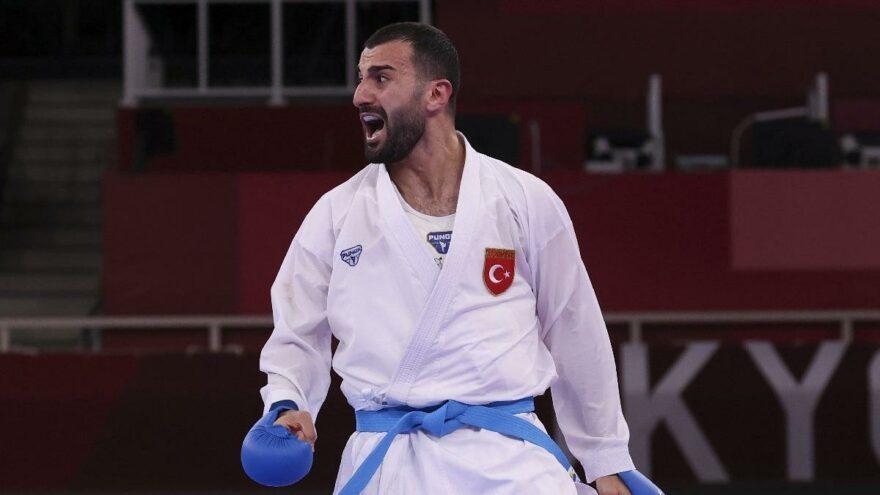 Milli karateci Uğur Aktaş madalyayı garantiledi   2020 Tokyo Olimpiyatları