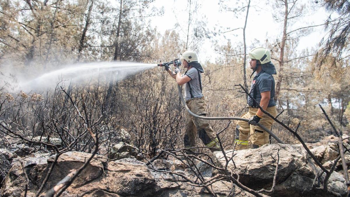 'Yangını kesmeseydik Bodrum'a kadar giderdi'