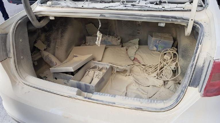 Gaz kaçıran piknik tüpü, sigara sebebiyle patladı
