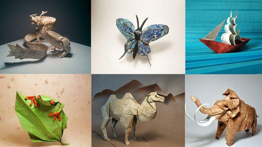 Kağıda hayat veren sanat Origami