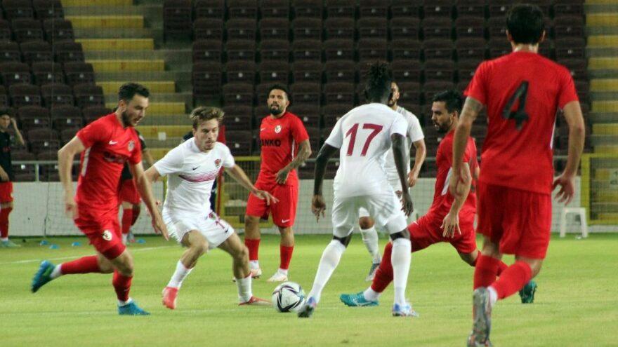 Hatayspor, Gaziantep'i tek golle geçti