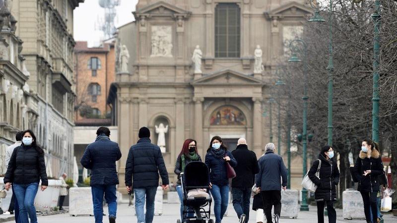 İtalya'da son 24 saatte 5 binden fazla vaka