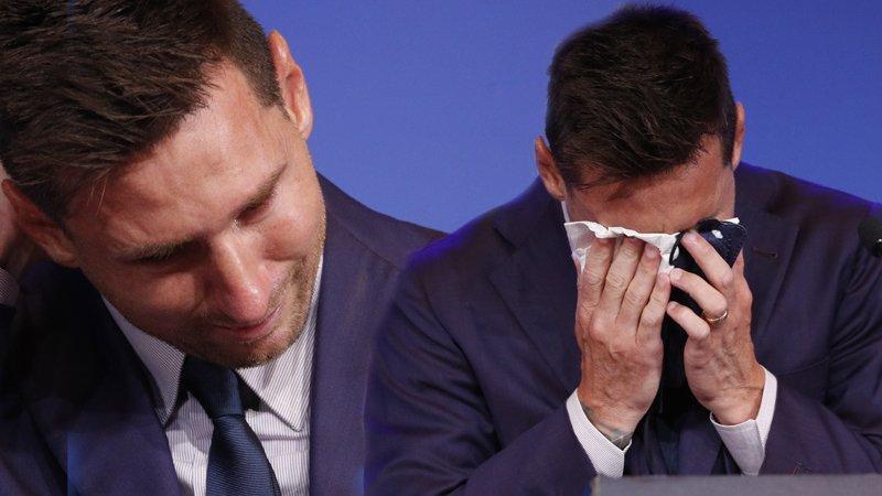 Lionel Messi, Barcelona'ya gözyaşlarıyla veda etti: 'Bir gün döneceğim'
