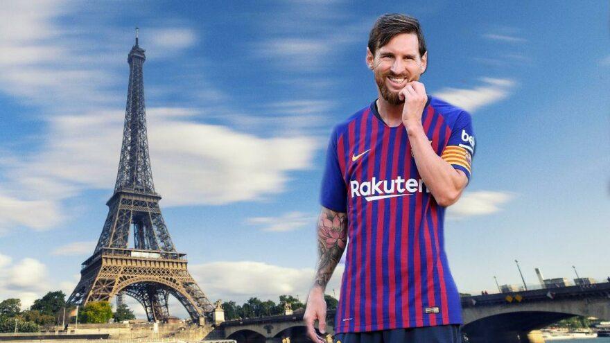Paris Saint Germain'de Lionel Messi için geri sayım! Eyfel Kulesi'nde hazırlık…