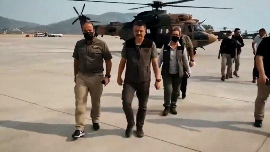 Yunanistan'a uçak gönderileceğini açıklayan Pakdemirli'ye tepki