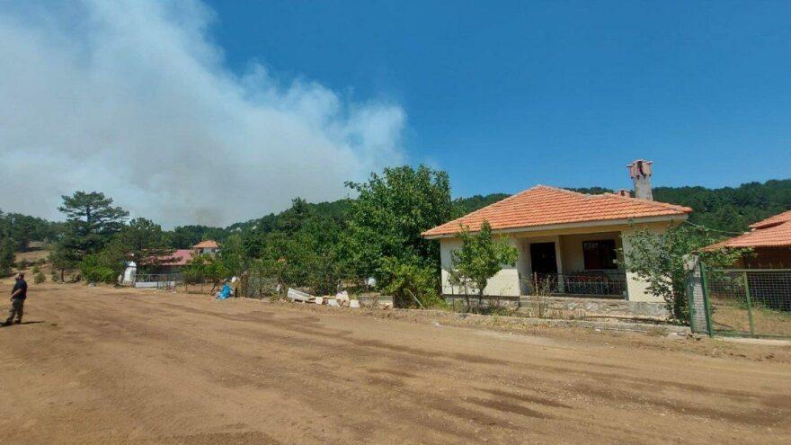 Köyceğiz'deki yangında 11'inci gün, yayladaki evler tahliye edildi
