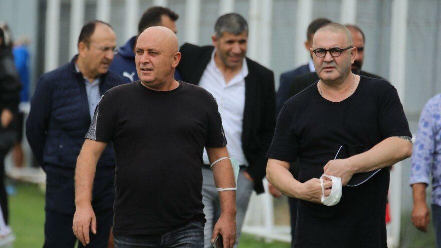 Şafak Sezer'den Sivasspor antrenmanına ziyaret